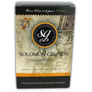 VIN BLANC Solomon Grundy 6 bouteilles Chardonnay d'Or