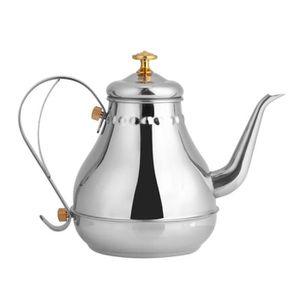 CAFETIÈRE Pot  à thé pot à café en acier inoxydable de 1,2L