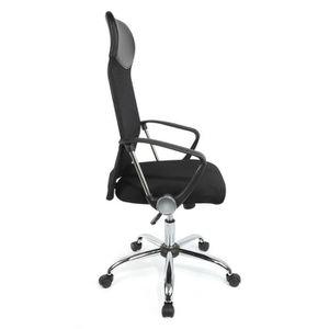 CHAISE DE BUREAU Chaise de bureau noire, Fauteuil de chef Ergonomiq