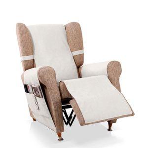 HOUSSE DE FAUTEUIL Couvre-fauteuil relax Bernia, Taille 1 place (55cm