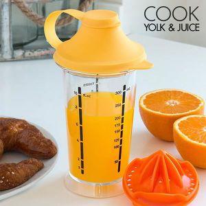 PRESSE-FRUIT - LEGUME MANUEL Verre-Mélangeur avec Presse-Agrumes Cook Yolk & Ju