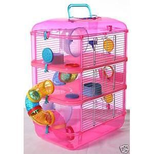 cage a hamster achat vente accessoire abri animal cage. Black Bedroom Furniture Sets. Home Design Ideas