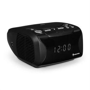 Radio réveil auna Dreamee USB Radio réveil lecteur CD MP3 écran
