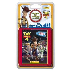CARTE A COLLECTIONNER TOY STORY 4 Blister 6 pochettes