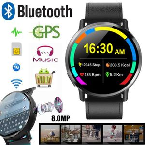 MONTRE CONNECTÉE LEMFO LEM X 4G Smartwatch Téléphone 16 Go 8.0MP ca
