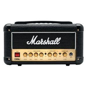AMPLIFICATEUR Marshall DSL1HEAD - Tête d'ampli guitare à lampes