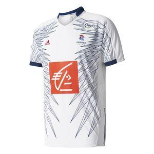 Maillot Handball Techfit France Rose Homme Adidas