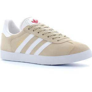Adidas gazelle femme beige - Cdiscount