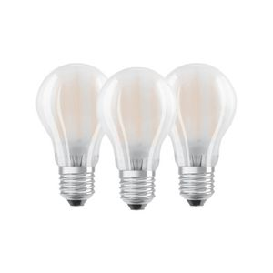 AMPOULE - LED OSRAM Lot de 3 Ampoules LED E14 sphérique dépolie