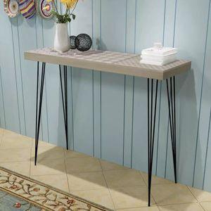CONSOLE Table de Console-Table d'Appoint-style contemporai