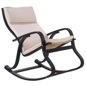 fauteuil rocking chair achat vente fauteuil rocking chair pas cher cdiscount. Black Bedroom Furniture Sets. Home Design Ideas