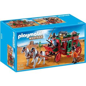 UNIVERS MINIATURE PLAYMOBIL 4399 Diligence Western