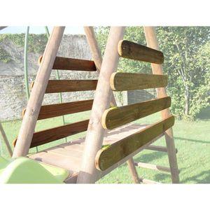 BALANÇOIRE - PORTIQUE Set garde corps bois pour portique 2,50 m