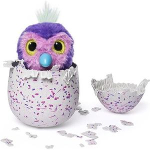 PELUCHE HATCHIMALS Penguala Pailleté Spinmaster