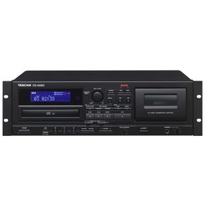 BALADEUR CD - CASSETTE Tascam CD-A580, 87 dB, MP3, 20 - 20000 Hz, Cassett