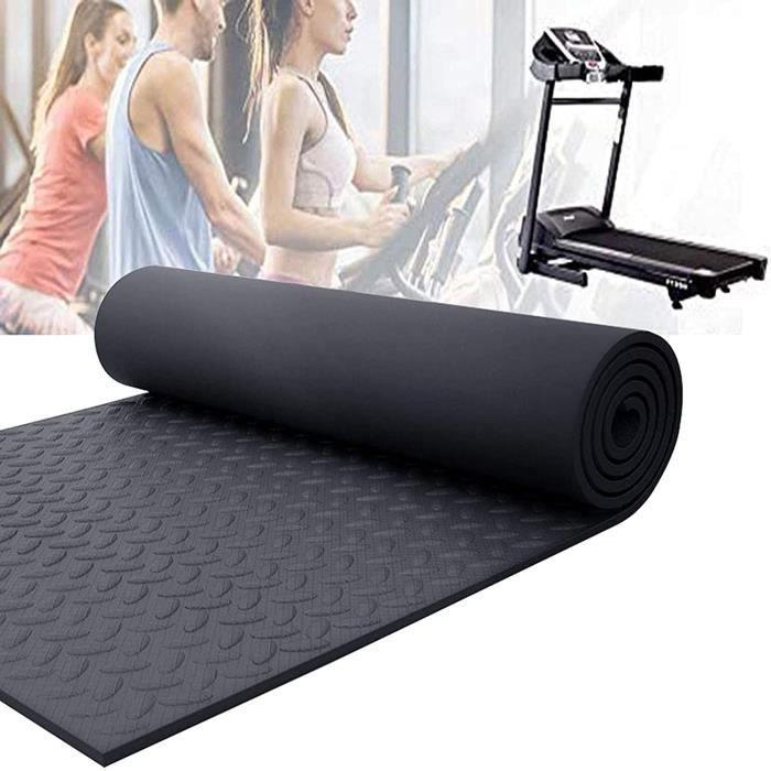 Tapis De Protection De Sol Pour Tapis De Course Noir,tapis &Eacutequipement Fitness Multifonctionnel R&eacutesistant &Agrave 48