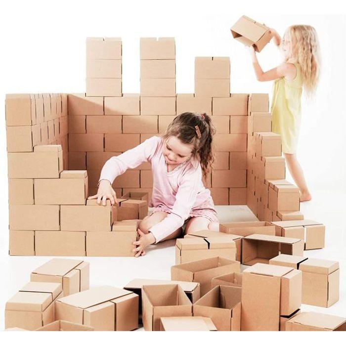 Jeux de construction Des blocs de construction géants - jeu de construction comprenant 60 blocks de taille XXL, des cade 52008