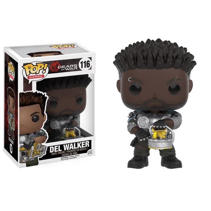 Figurine Funko Pop! Gears of War : Del Walker