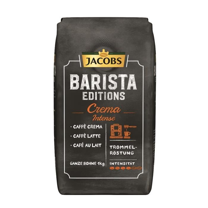 Jacobs Barista Editions Crema Intense Grains de café 1kg