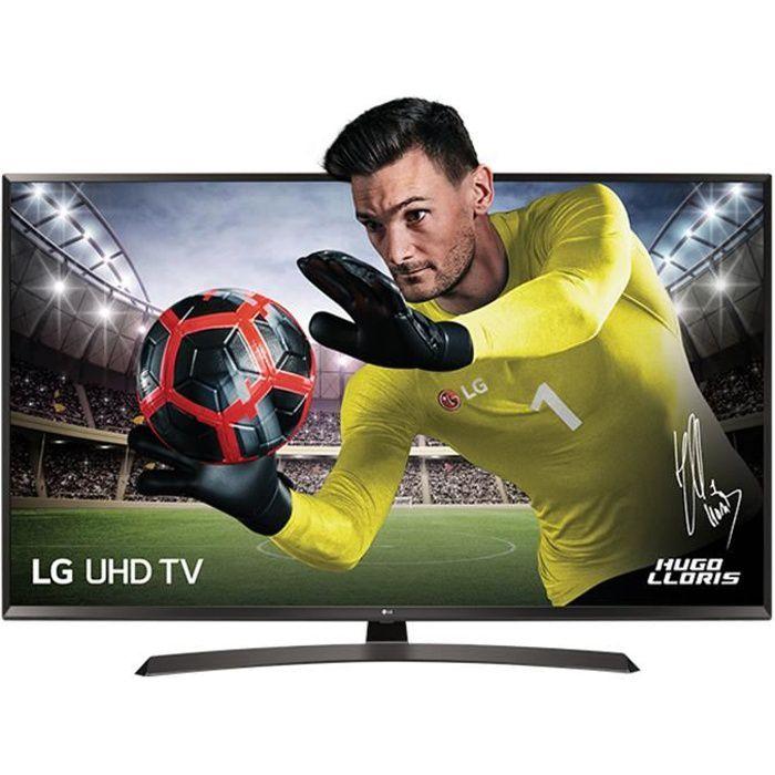 LG 65UJ634V - TV LED - 4K UHD - 65- '(164cm) - Smart TV - 3 x HDMI - Classe énergétique A