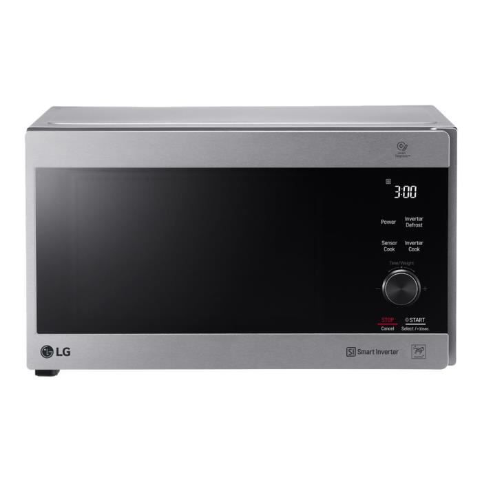 LG MH7265CPS - Four micro-ondes grill - pose libre - 32 litres - 1350 Watt - inox