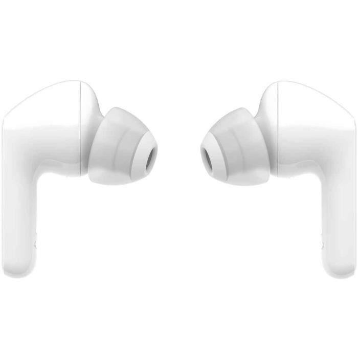 LG TONE Free HBS-FN5U Écouteurs Intra-auriculaires Bluetooth - Technologie UVNano LED -  IPX4 - Autonomie 18h - Blanc