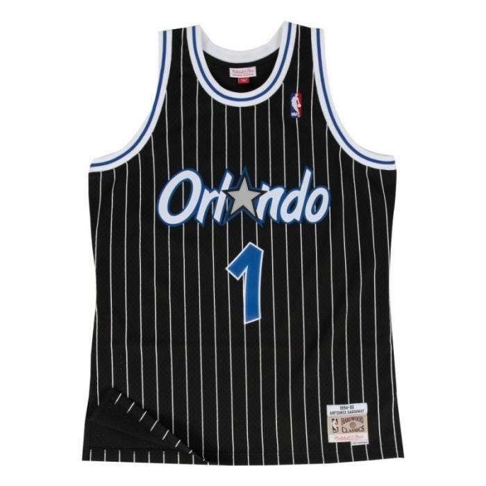 Maillot NBA swingman Anfernee Hardaway Orlando Magic 1994-95 Hardwood Classics Mitchell amp ness noir