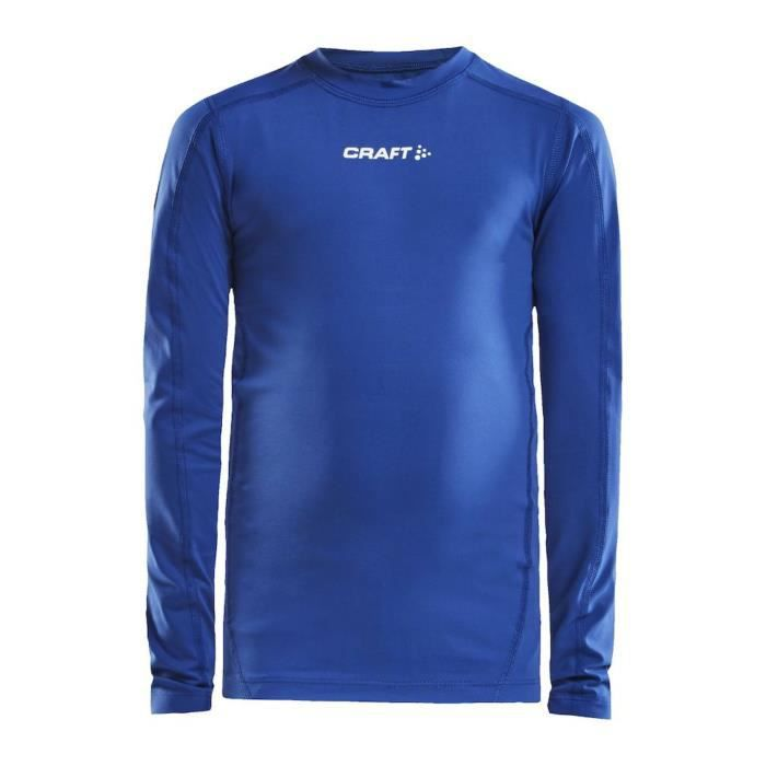 Maillot compression junior Craft pro control LS