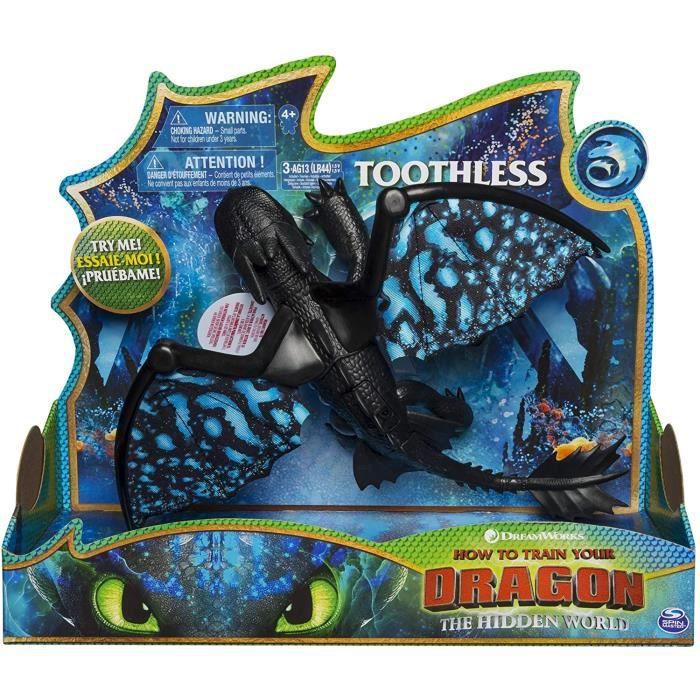 Movie Line Deluxe Dragons Toothless avec son et lumière