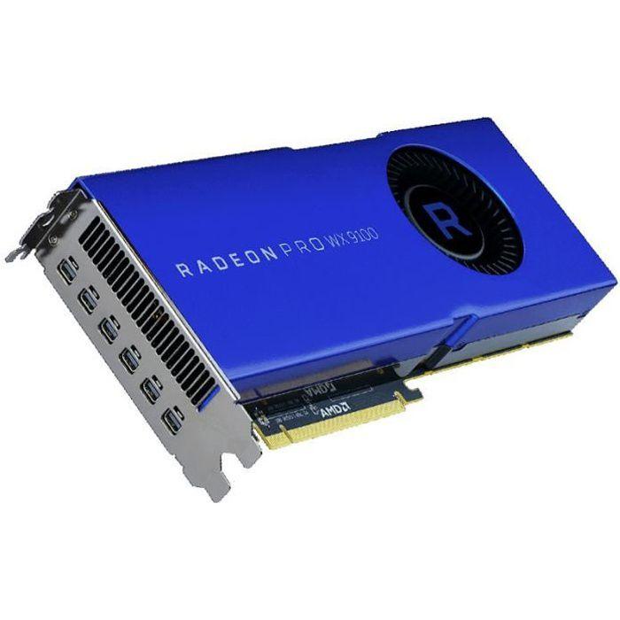CARTE GRAPHIQUE INTERNE Carte graphique AMD Radeon Pro WX 9100, 16384 MB H