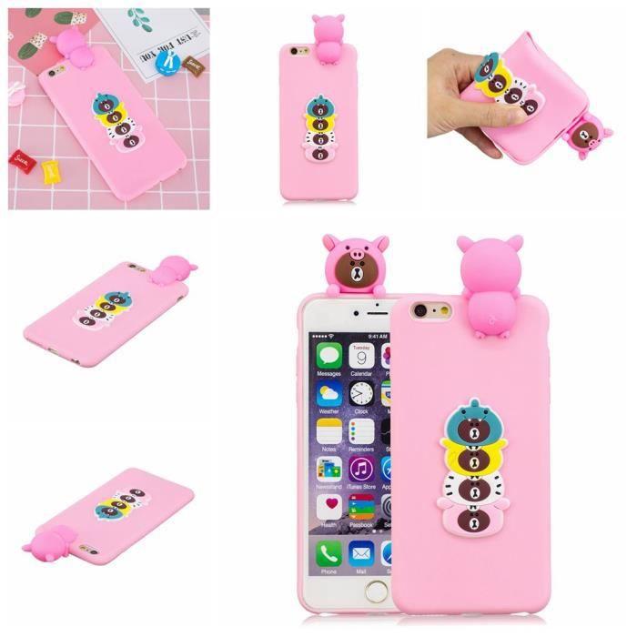 coque iphone 6s plus iphone 6 plus 3d silicone tpu