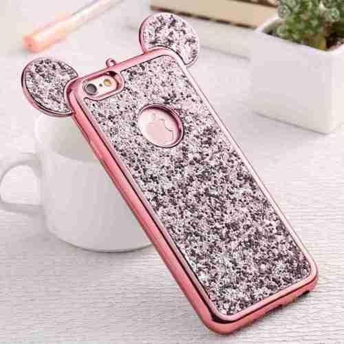 coque iphone 6 6s en silicone mignonne etui paille