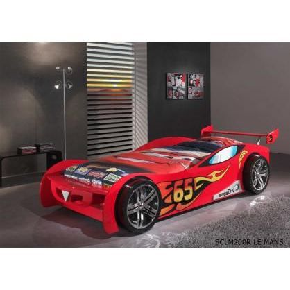 lit voiture enfant speedy rouge achat vente lit. Black Bedroom Furniture Sets. Home Design Ideas