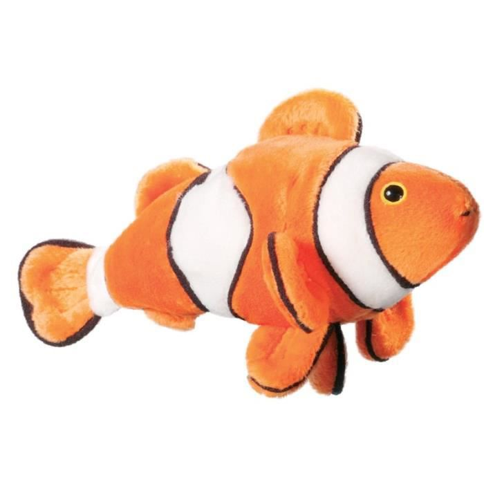 Peluche poisson clown 20 cm achat vente peluche for Poisson clown achat