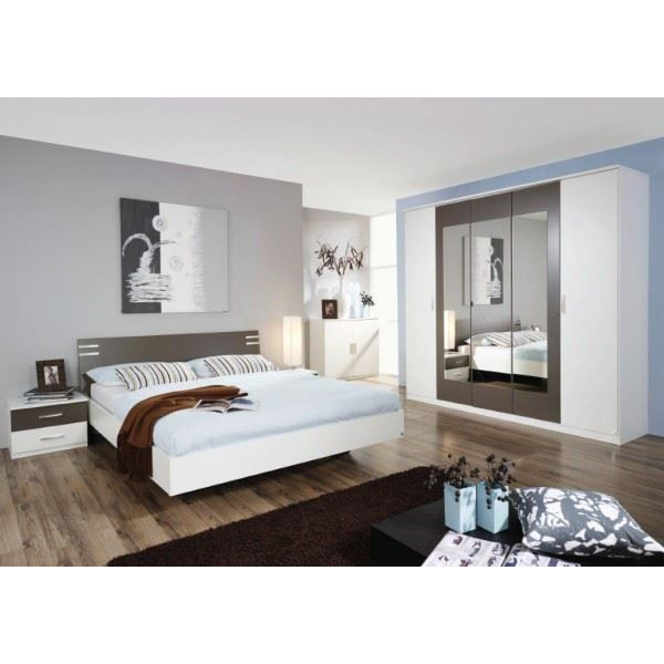 Chambre adulte compl te alessia coloris blanc achat for Chambres adultes completes design