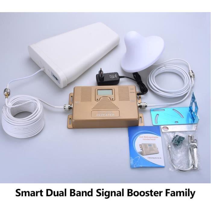 AMPLIFICATEUR DE SIGNAL Vente chaude Double Bande 800/2100 MHz Signal Mobi