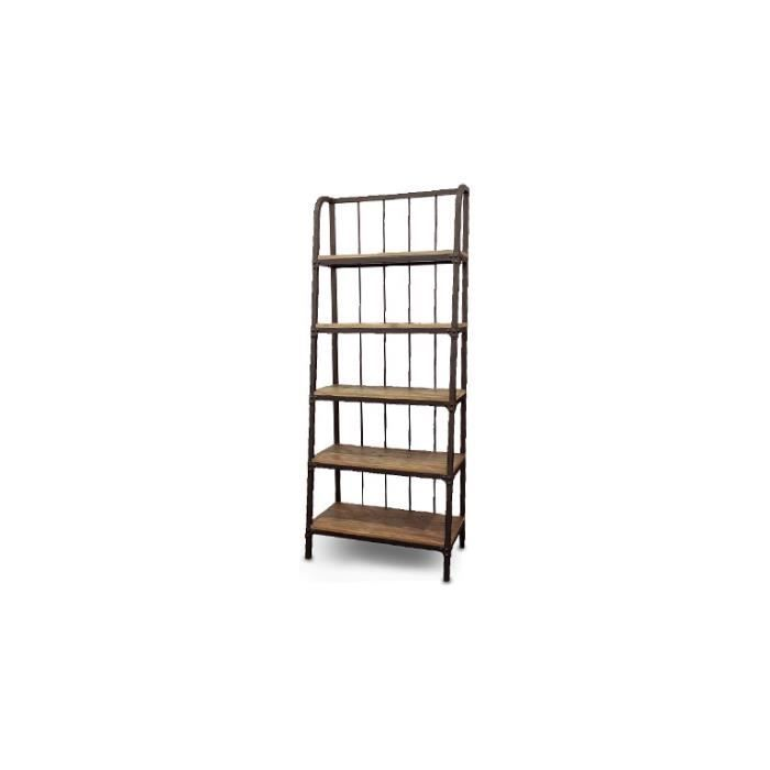 etagere style industriel max min. Black Bedroom Furniture Sets. Home Design Ideas