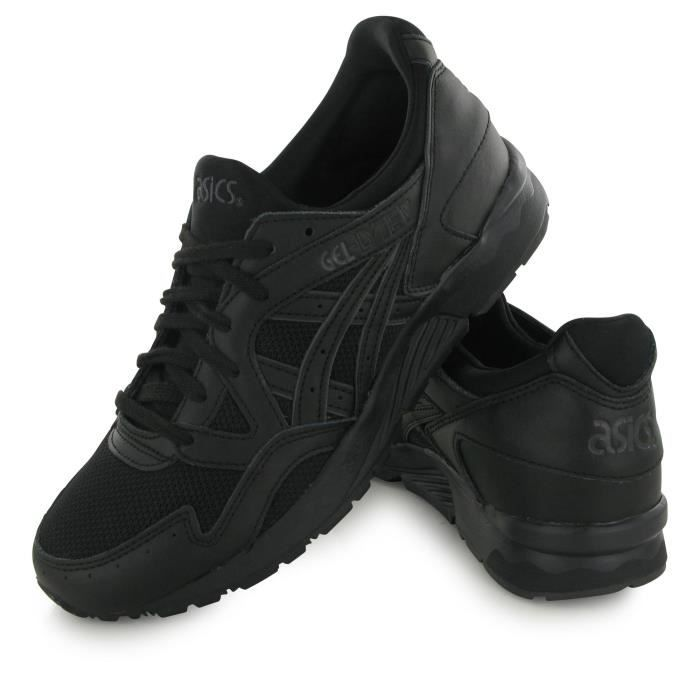 Chaussures Asics Gel Lyte noires homme
