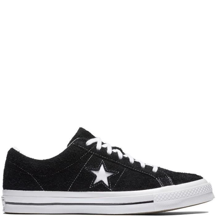 Taille Star Fitness Converse 39 One Suede Men's Ox Shoes Lifestyle 3u4210 Black Adults' OwukPZlXiT