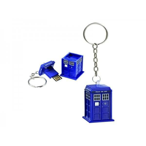 doctor who porte cl tardis usb 8 gb achat vente porte cl s 0882041013399 cdiscount. Black Bedroom Furniture Sets. Home Design Ideas