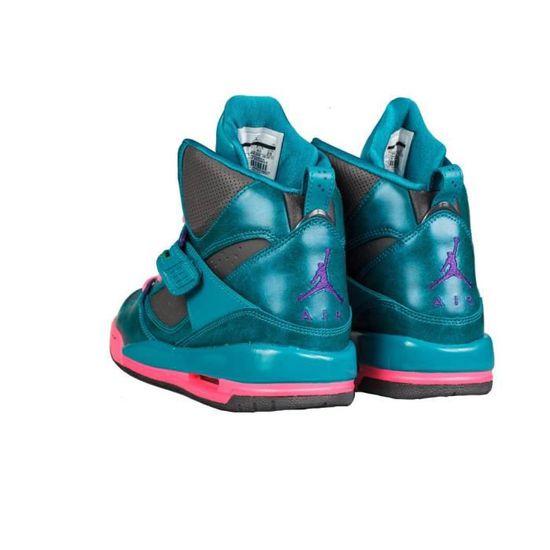 NIKE JORDAN FLIGHT 45 FEMME turquoise rose - Cdiscount Chaussures