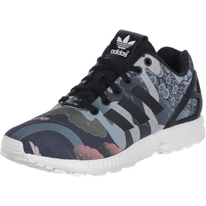 baskets adidas zx originals flux 2.0 en bordeaux