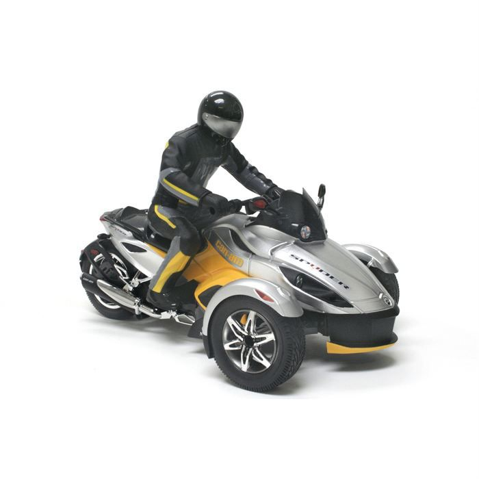 can am spyder radiocomand echelle 1 16 me achat vente voiture camion can am spyder. Black Bedroom Furniture Sets. Home Design Ideas