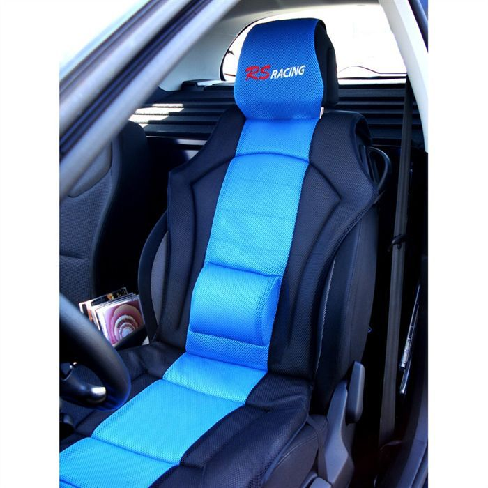Couvre siège RS Racing Bleu