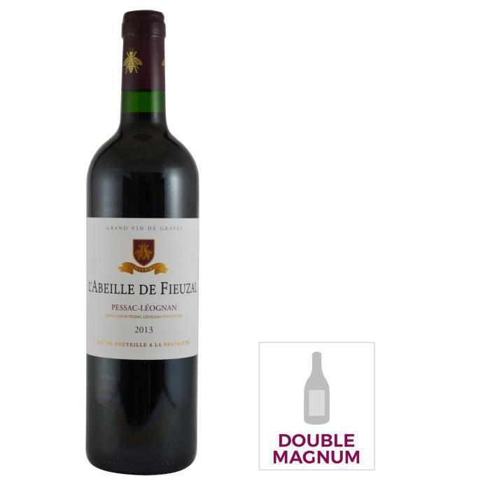 Double Magnum L'abeille de Fieuzal 2013 Pessac Léognan - Vin rouge Bordeaux