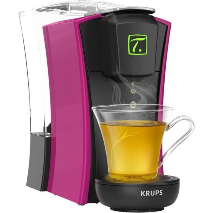 KRUPS YY4123FD Machine à thé à capsules Spécial.T MINI.T - Fushia