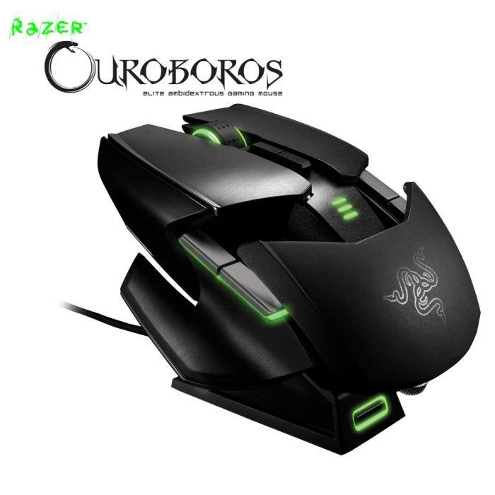 RAZER Souris Gamer OUROBOROS - Sans fil - Laser - 8200 DPI - PC/ Mac