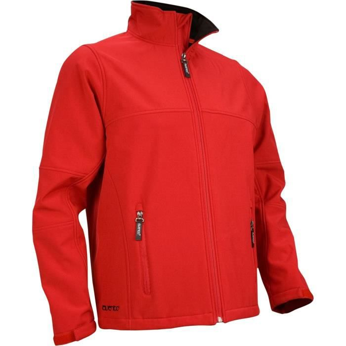AVENTO Softshell - Homme - Rouge