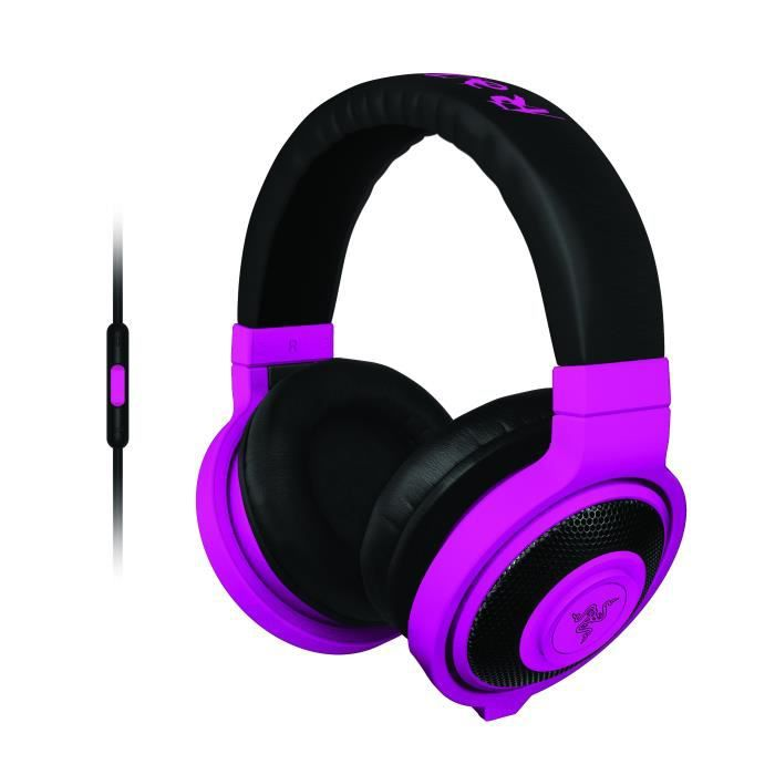 Razer casque Gaming Kraken Mobile Violet