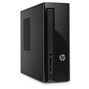 HP PC de bureau- 260a103nf - 4Go de RAM - Windows 10- Intel Pentium J3710- Intel HD - Disque dur 1 To